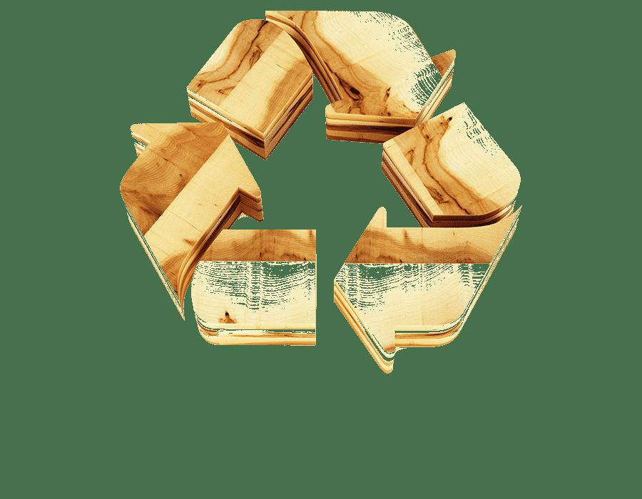 Privacia, recyclage des déchets bois