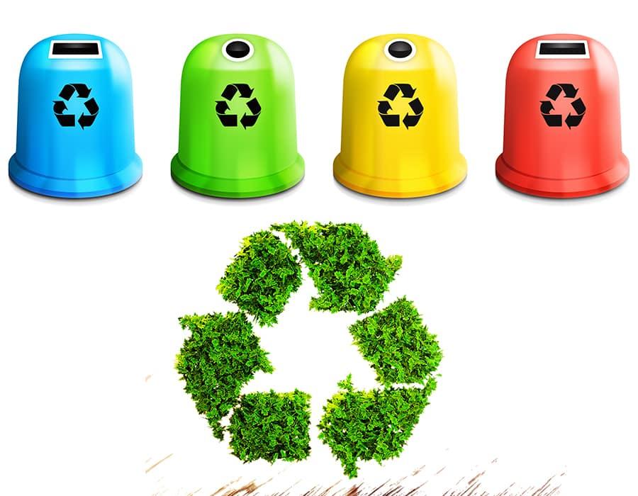 Tri et gestion des déchets - Gestion 5 flux avec Privacia